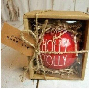 """Rae Dunn """"Holly Jolly"""" ornament"""